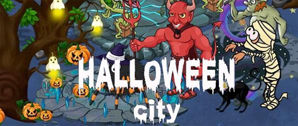 Halloween City - Breed and take care of your very own monsters and pit them against other players' in Halloween City!