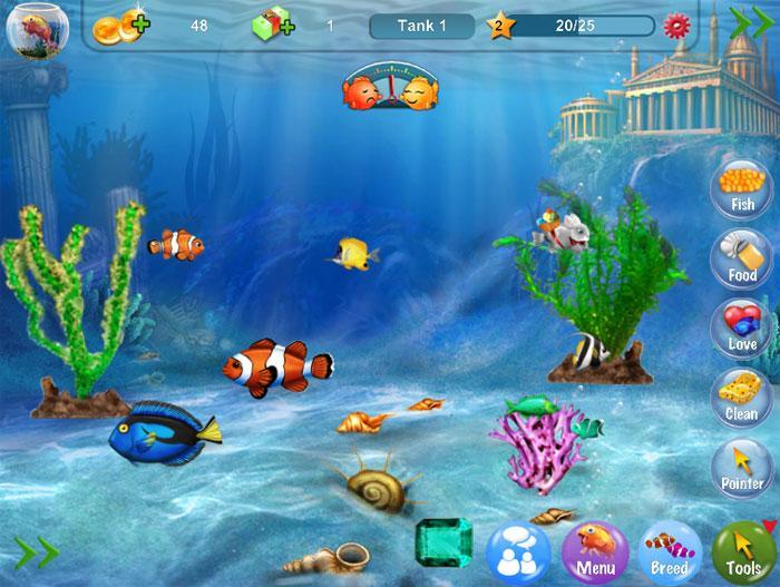 Dream Fish Game - Virtual Worlds Land!