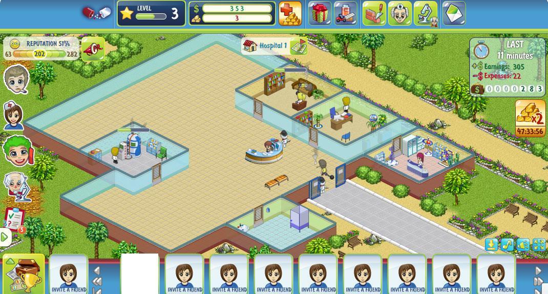 Hospital Decorating Games