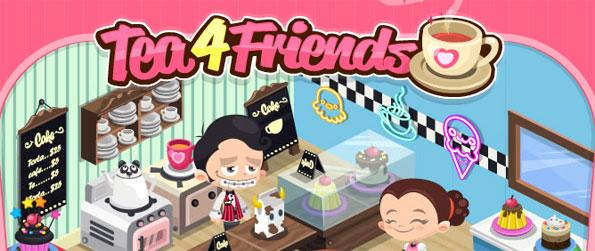 Tea4Friends - Create and run your very own restaurant and turn it into the most popular place in town.