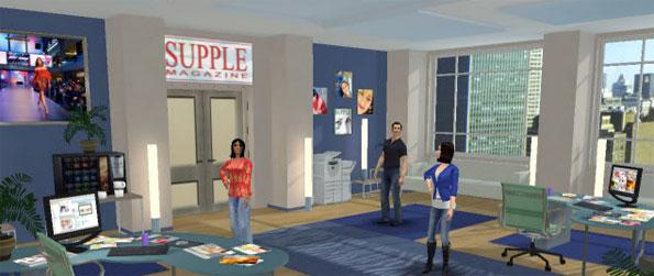 Supple: Episode 2 - Gossip, chat or even flirt with the many interesting characters at Supple Magazine in this amazing simulation game, Supple: Episode 2!