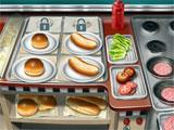 Cooking Fever: Serving some fast food