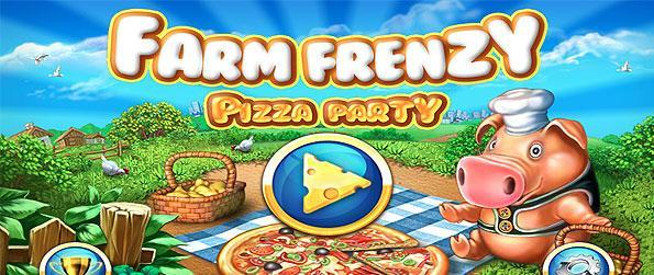 Farm Frenzy: Pizza Party - Farm Frenzy Pizza Party throws you the perfect array of tasks needed to produce all those delectable pizza ingredients, time-management-style for the challenge!