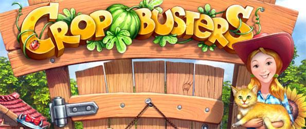 Crop Busters - Play this beautiful match 3 game and build up your perfect farm full of cute animals.