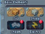 Basic elements in The Sandbox
