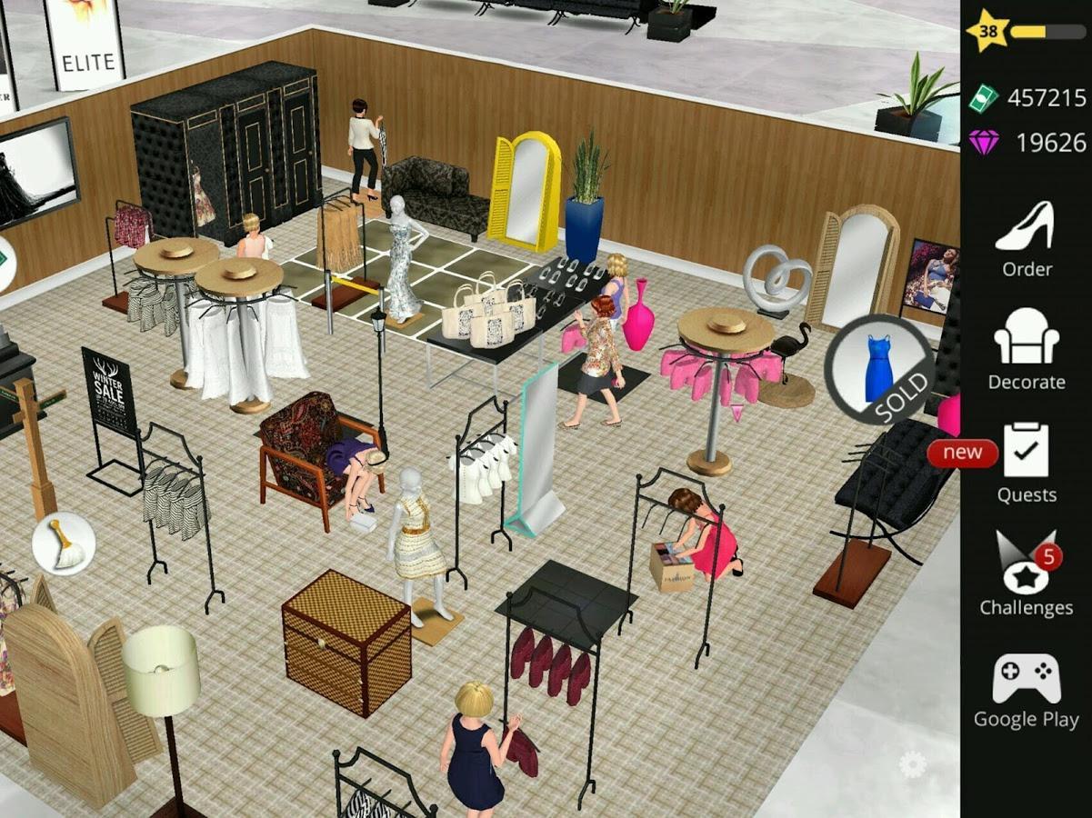 Fashion Empire - Boutique Sim: Dresses ...