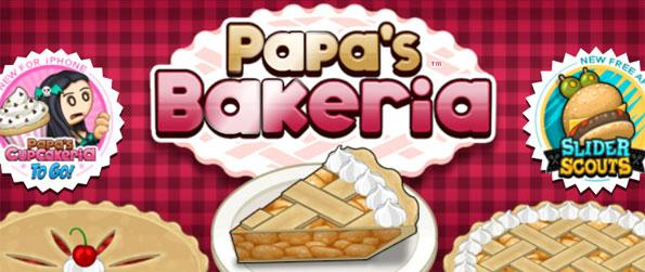 Papa's Bakeria - Bake delicious pies according to the specifications that your customers want in this challenging game, Papa's Bakeria!