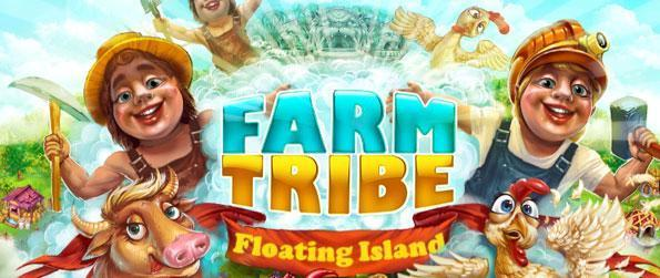Farm Tribe 3: Floating Island - Save the world of the Keepers from an evil entity wanting to starve the world.