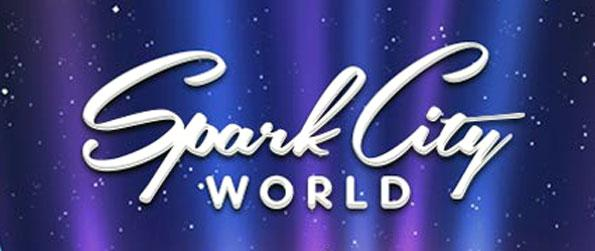 Spark City World - Live in an ultra-girly virtual world: dress up your avatar and make it look like yourself in real life!