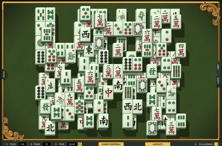 Hidden Words in TheMahjong.com