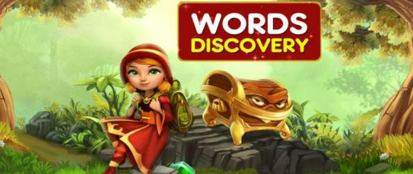 Words Discovery - Words Discovery joins the ranks of word puzzles, but it attempts to make itself different by offering a new twist – that is, you don't randomly form words based on the letters available.