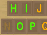 Hangman-like gameplay in English Guess the Phrase