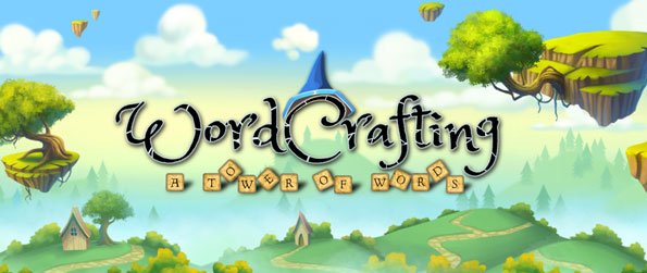 """WordCrafting: A Tower of Words - Unscramble letters, connect letters on your """"crossword tower"""", and build a tower of words in WordCrafting: A Tower of Words!"""