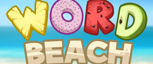 Word Beach - Swipe the letters to link them up and form the words needed to solve the level in Word Beach!