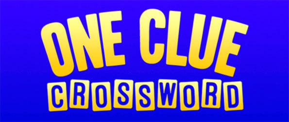 One Clue Crossword - Find all the words in this immersive crossword game that doesn't cease to impress.