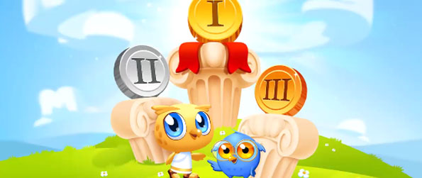 Word Olympics - Find all the words as you can by making use of the letters at your disposal in this exciting word finding game.