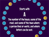 Alphabet Game finding words