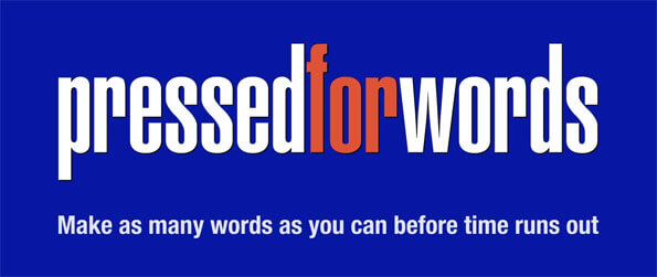 Pressed for Words - Find as many words as you can in this fun filled word finding game that doesn't cease to impress.