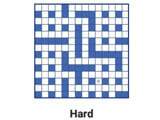 Fill-In Crosswords: Daily puzzles
