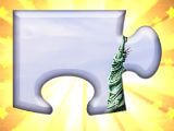 Collectible jigsw puzzle piece in 4 Pics Puzzle Guess 1 Word