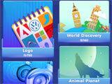 Quiz World: A Trivia Collection main menu