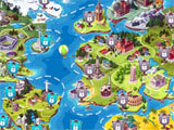 Words World Puzzle world map