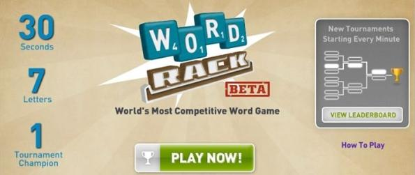 Word Rack - Figure Out The Word The Fastest To Win!