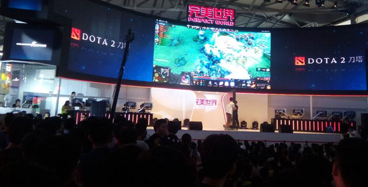 An ongoing DotA 2 competition