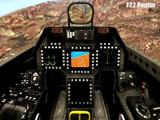 F22 Raptor Sim