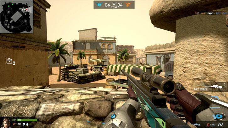 V OF WAR: Gameplay