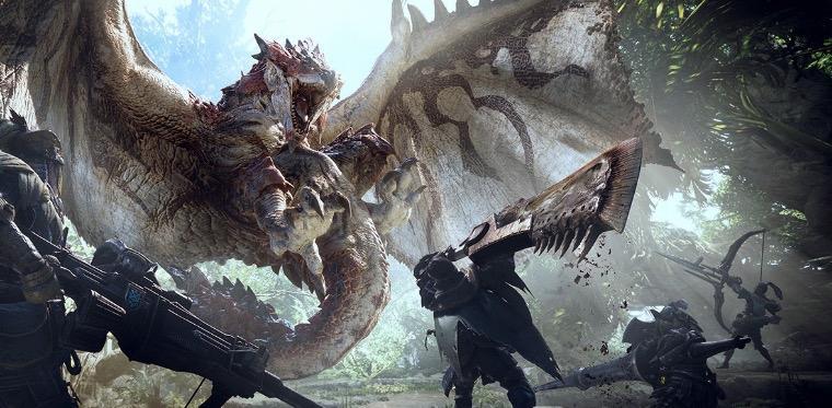 Rathalos in Monster Hunter World