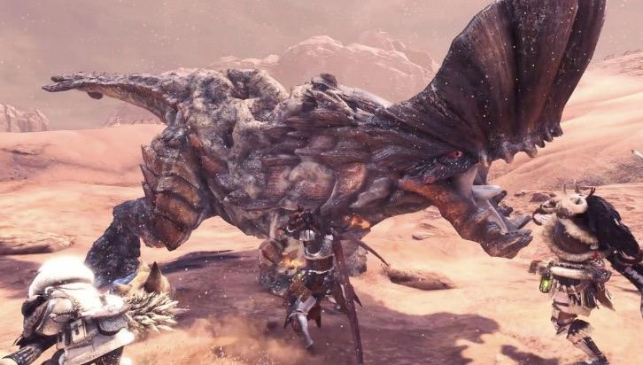 Barroth in Monster Hunter World