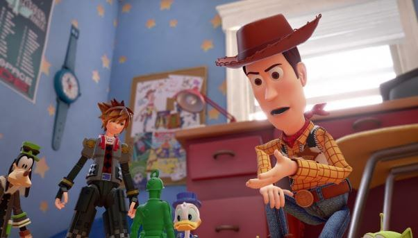 Kingdom Hearts 3 and Toy Story