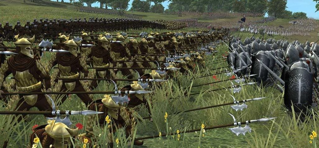 Can't believe we still don't have a medieval battle royale. Screenshot from Medieval 2 Total War