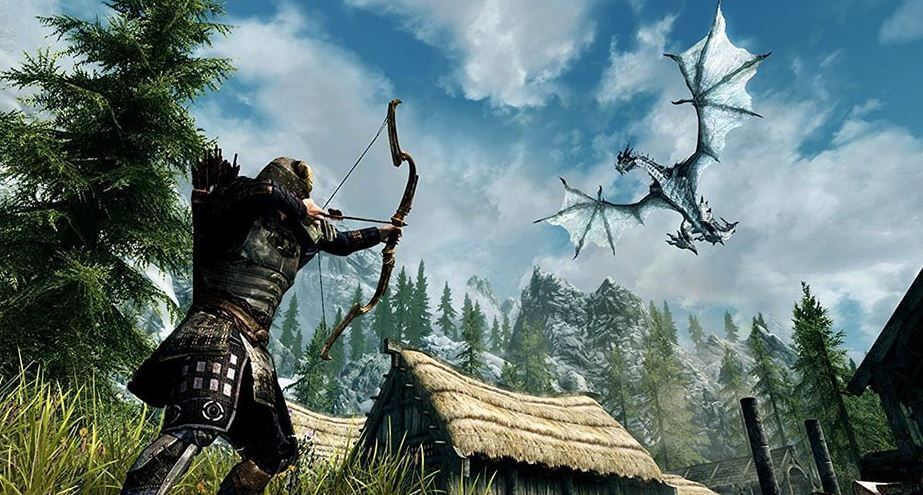 A medieval fantasy battle royale game would be awesome. Photo from Skyrim