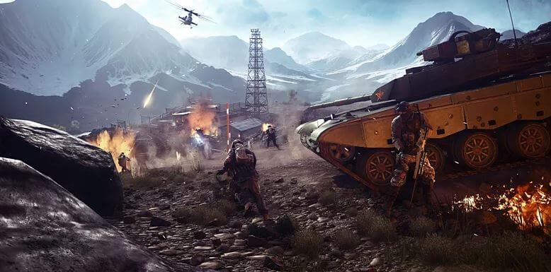 A true military-themed battle royale would be amazing. Photo from Battlefield 4