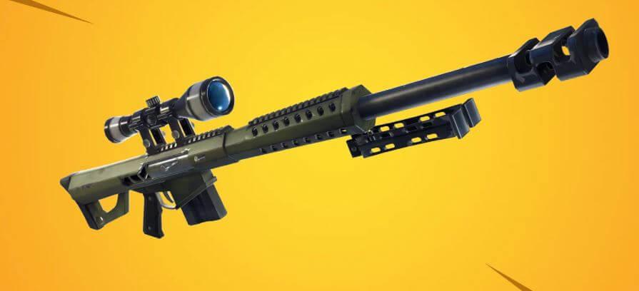 Heavy sniper in Fortnite