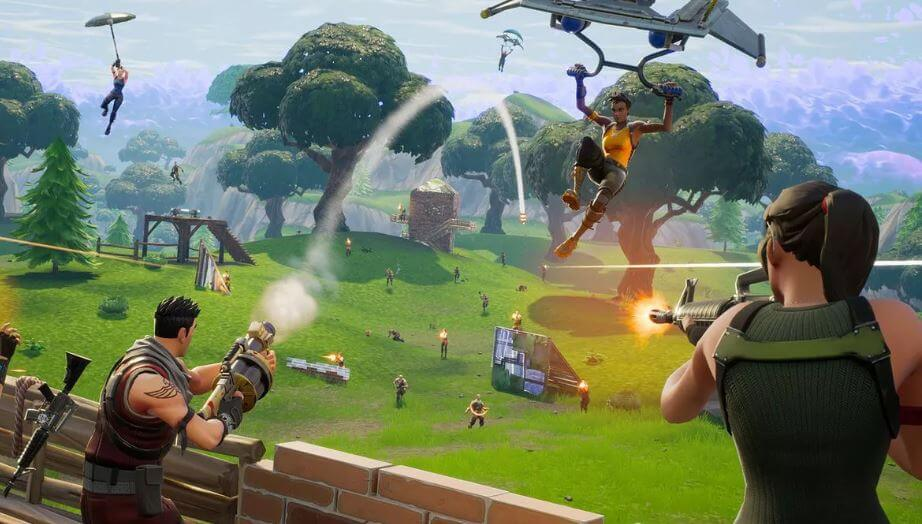Don't talk, just play in Fortnite