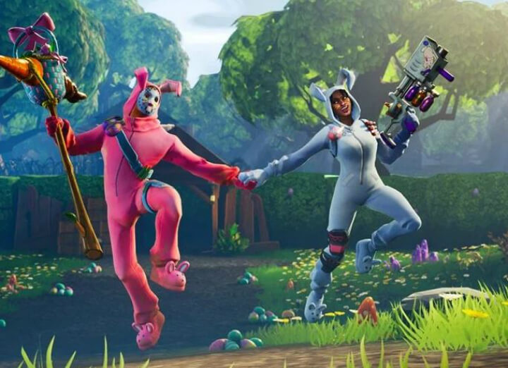 Don't expect to be too close with teammates in Fortnite