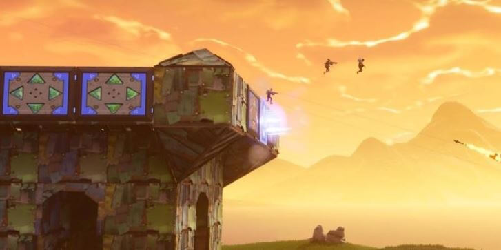 Use a port-a-fortress in a build battle and you'll probably win