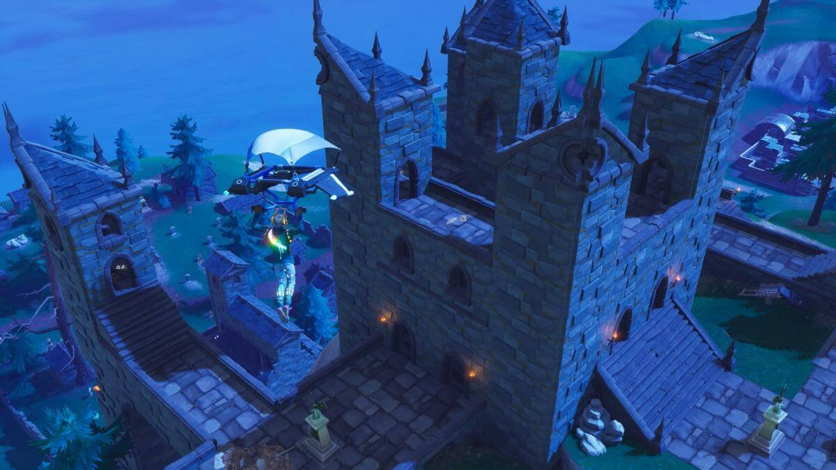 Haunted Castle in Fortnite