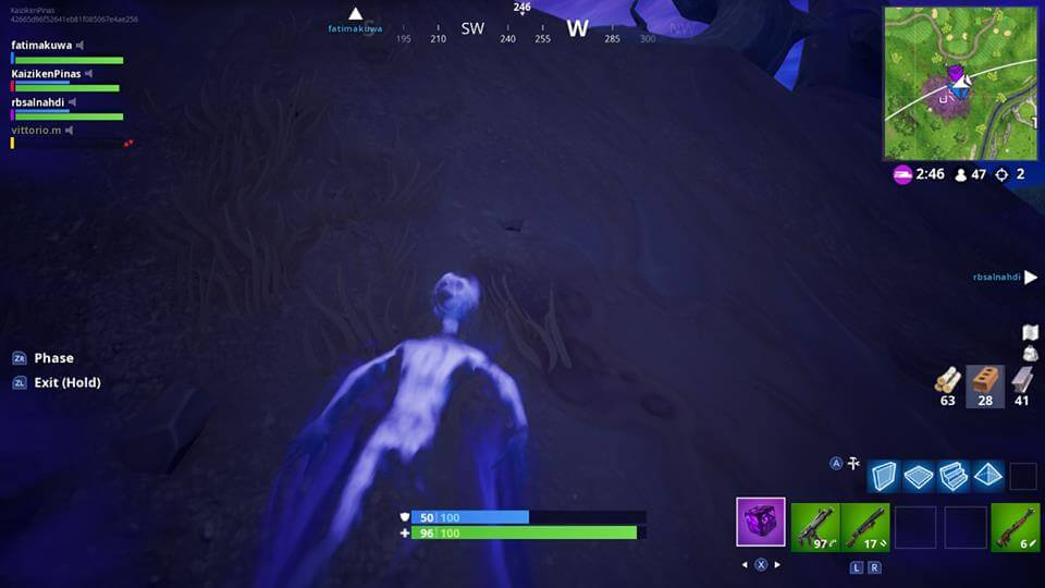 Ghost in a Corrupted Area