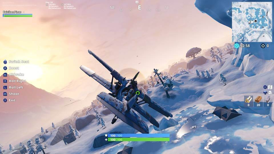 Fortnite added planes which is great