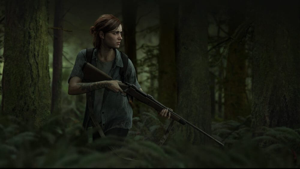 Ellie in The Last of Us Part 2