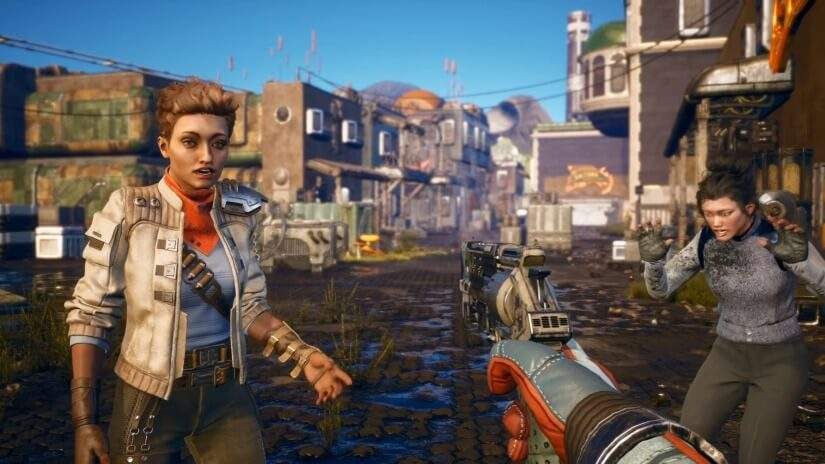 The Outer Worlds looks fine