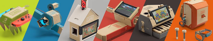 Nintendo Labo and the Toy-To-Life Concept