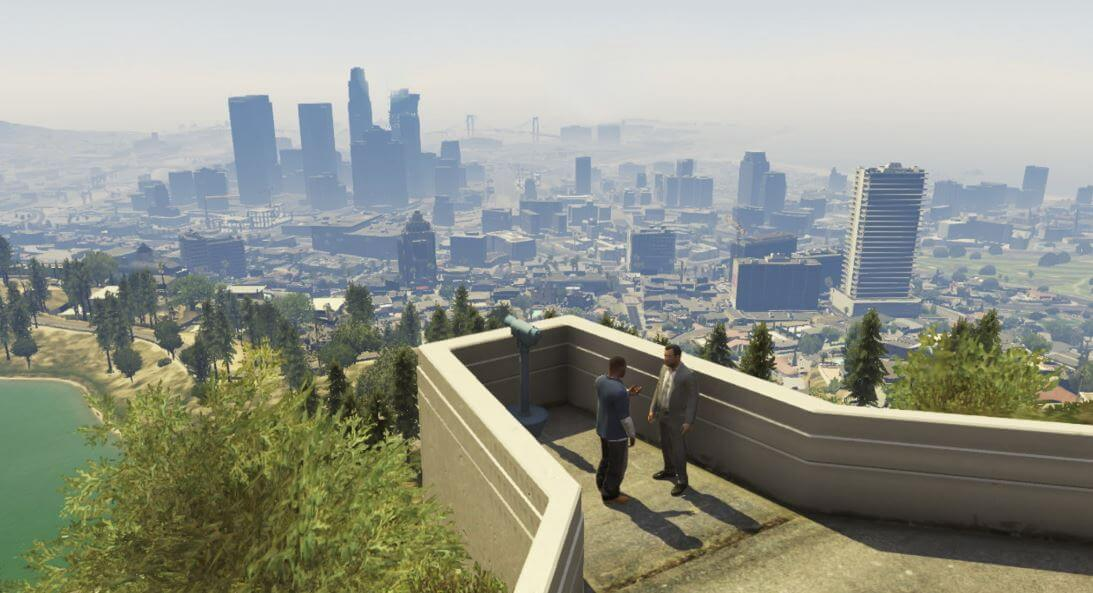 Though GTA is based on the real world, it is unbound by reality