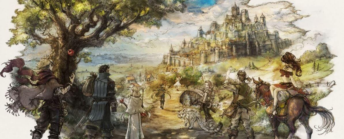 In Octopath Traveler, you can be eight different characters
