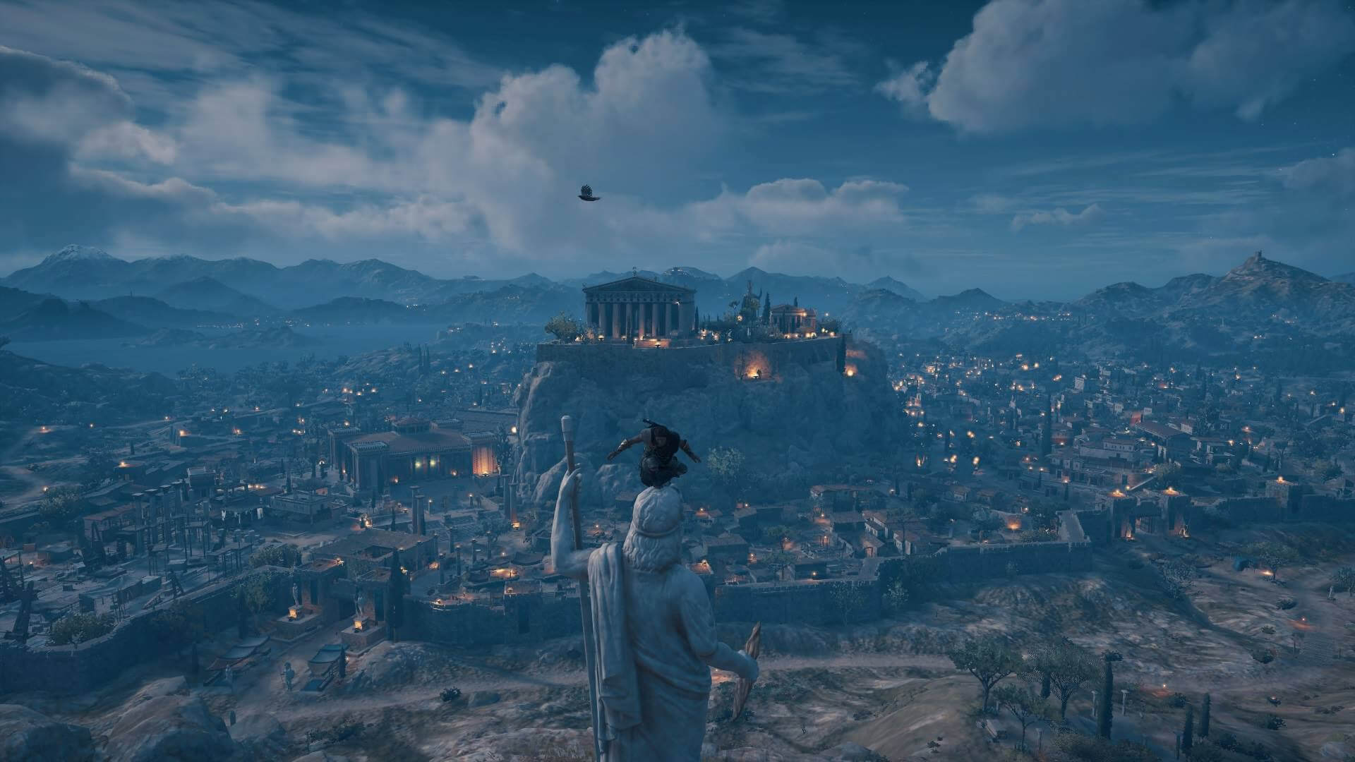 Ancient Athens in AC Odyssey