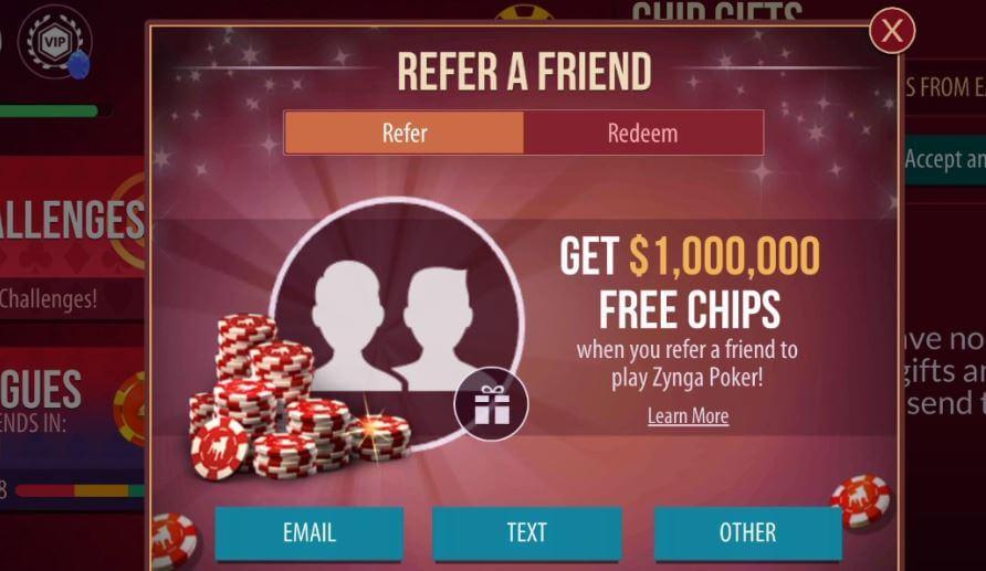 Zynga rewards referrals